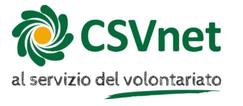 CSV Net : CSVnet - Associazione centri di servizio per il volontariato