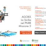 AGORA' LA SICILIA NEL PNRR – 26 APRILE 2021