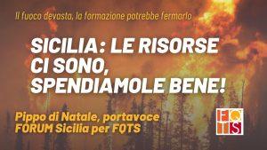 fuoco sicilia fqts agosto 2021